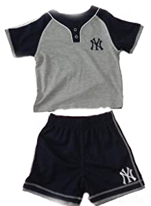 New York Yankees Toddler Short Set by Yankees