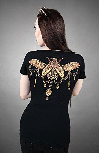 t-shirt-noir-coleoptere-steampunk-scarabee-au-dos-s