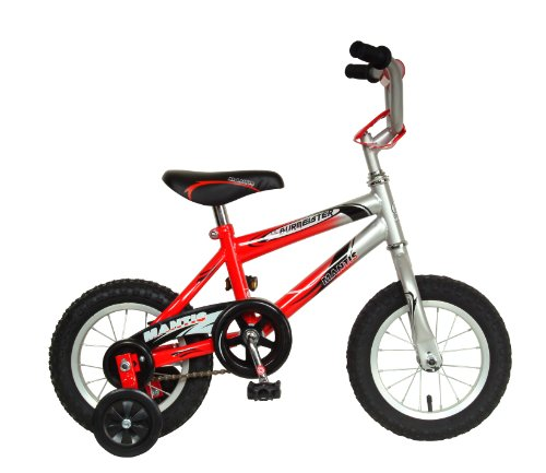 Mantis-Lil-Burmeister-Kids-Bike-12-inch-Wheels-8-inch-Frame-Boys-Bike-RedSilver