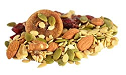 Brain Beeper - All Natural Healthy, Nutritious Nuts, Seeds, Fruits Trail Mix Snack with no added sugar (from thenibblebox.com (60g x 3 packs))