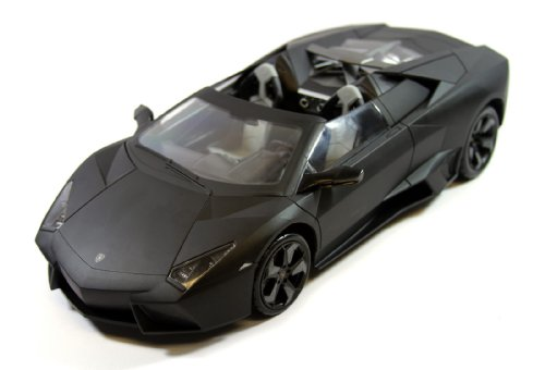 Review Officially Licensed 1:14 Scale Rechargeable Convertible Lamborghini Reventon RC Car Toy Gift, Color May Vary