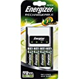 Energizer 1 Hour Battery Charger with 4 x AA Batteries.