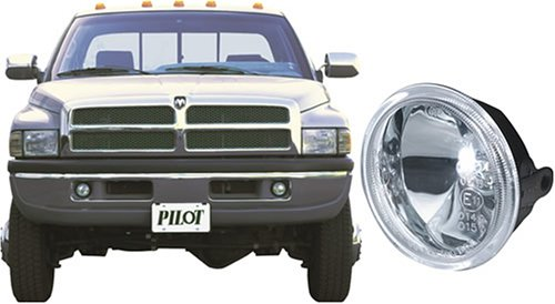 Pilot Performance Lighting   PL-114C Pilot 94 - 01 Dodge Ram Custom Driving Light Kit, Clear