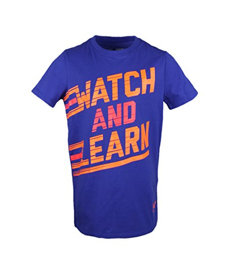 Under Armour Girls Watch and Learn Charged Cotton T-Shirt
