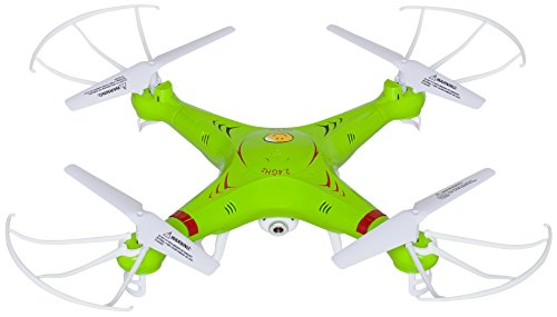 X5C RC Quadcopter Drone with Camera (720p HD) Headless Mode 2.4GHz 4 CH 6 Axis Gyro RTF Includes BONUS BATTERY (*Doubles Flying Time*)