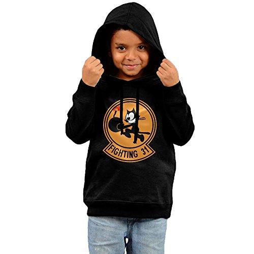 bannri-felix-fighting-31-hooded-sweatshirt-for-kids-black