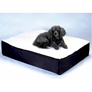 Snoozer Orthopedic Lounge Pet Bed, Medium, Navy, All Fabric