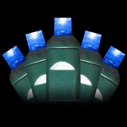 5Mm Blue Christmas Lights - Blue Wide Angle Christmas Lights
