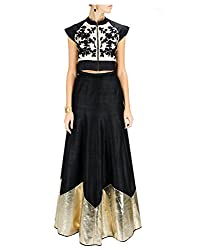 Isha Enterprise Banglori Lehenga Choli(BHV-3320_Black)