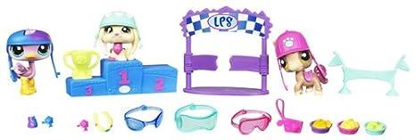 Littlest Petshop - 29206 - Figurine - 3 Petshop et Accessoires - La Course