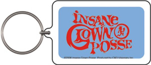 Licenses Products Insane Clown Posse Logo Lucite Keychain
