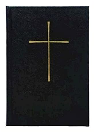 Book of Common Prayer, Pew, Black