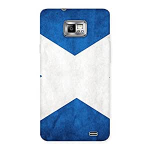Special X Fin Blue Back Case Cover for Galaxy S2