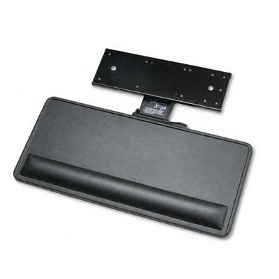 Ergonomic Concepts ECI-910-SPL Extended Articulating Keyboard/Mouse Platform- 27 x 12- Black