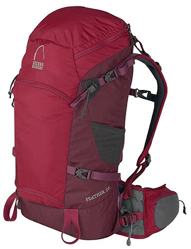 Sierra Designs Feather 25 Day Pack (Medium/Large, Rio Red)