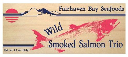 Smoked Salmon Trio, 22 Oz.