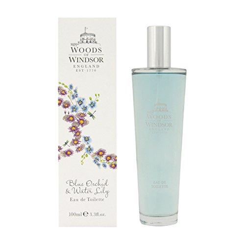 Woods of Windsor, Eau de Toilette spray Donna orchidea blu e ninfea, 1 x 100 ml