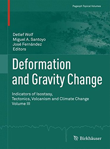 Deformation and Gravity Change: Indicators of Isostasy, Tectonics, Volcanism and Climate Change Volume III (Pageoph Topi