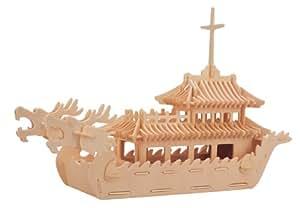 Quay - Bateau Dragon - Kit de construction en bois