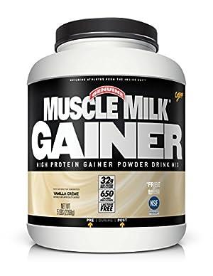 Cytosport Muscle Milk Gainer Supplement, Vanilla Creme, 5 Pound