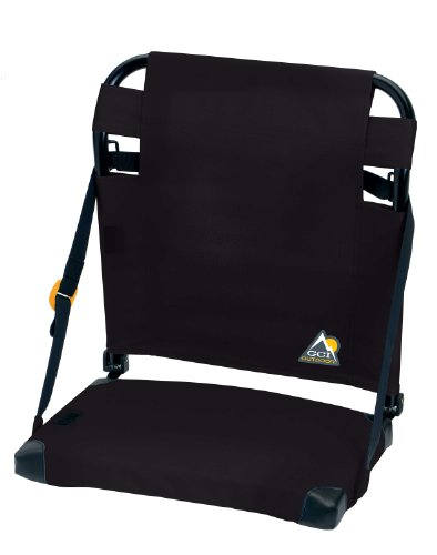 Gci Outdoor Bleacherback Stadium Seat, Black back-1081216