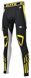 Elite Hockey Compression Gel Jock Pants [SENIOR] by Elite Hockey