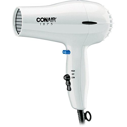 Conair 247W 1875W HAIR DRYER WHITE (Conair Wall Hair Dryer compare prices)