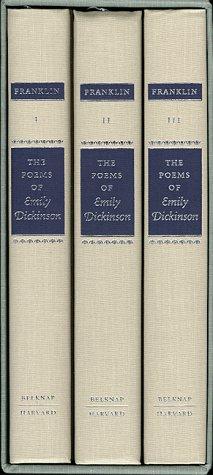 The Poems of Emily Dickinson (Variorum Edition)