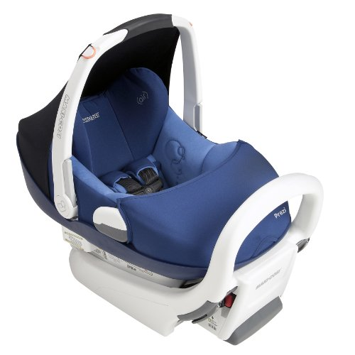 Maxi-Cosi Prezi Infant Car Seat, Reliant Blue with White Frame