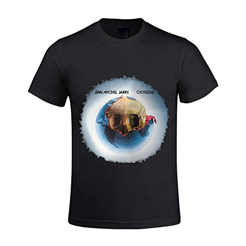 jean-michel-jarre-oxygene-1976-Men-Shirts-Crew-Neck-Cool