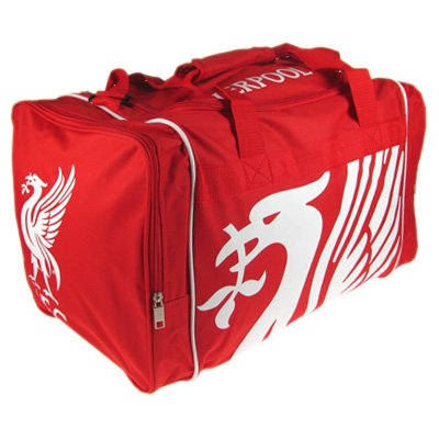 Official Liverpool FC Holdall - A Great Christmas, Birthday, Valentine, Anniversary Gift For Husbands, Fathers, Sons, Boyfriends, Friends and Any Avid Liverpool Football Club Fan Supporter