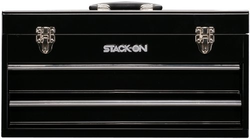 Stack-On Shb-620 20-Inch 2-Drawer Tool Chest, Black front-944013