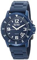 Ritmo Mundo Unisex 314 Blue Hercules Aluminum Quartz Watch