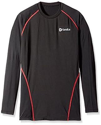 TM-R11 Tesla New Men's Cool Compression long sleeve