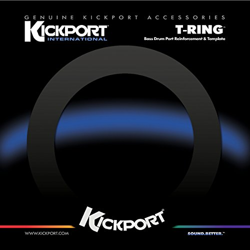 Kickport Kptrg-Black T-Ring Template/Reinforcement Ring, Black