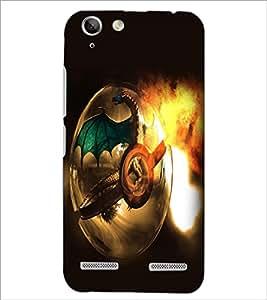 PrintDhaba Dragon D-2101 Back Case Cover for LENOVO VIBE K5 PLUS (Multi-Coloured)