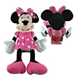 Disney Minnie Mouse Plush Pink Doll Toy 25