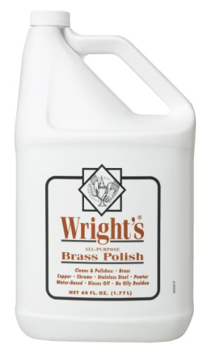 Wright's Brass Polish, 60 fl oz (Wrights Brass Polish compare prices)