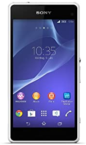 Sony Xperia Z1 Compact Smartphone (10,9 cm (4,3 Zoll) HD-TRILUMINOS-Display, 2,2GHz, 2GB RAM, 20,7 Megapixel Kamera, Android 4.4) weiß