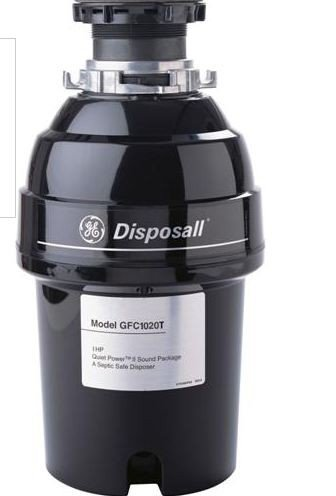 Ge Gfc1020V 1 Horsepower Deluxe Continuous Feed Disposall Food Waste Disposer