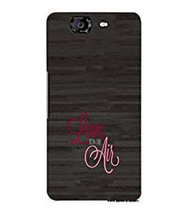 EPICCASE Love is in the air Mobile Back Case Cover For Micromax Canvas Knight A350 (Designer Case)
