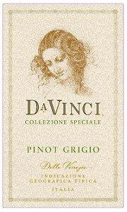 Da Vinci Pinot Grigio 2008 750Ml