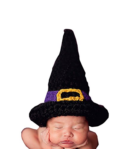 CX-Queen Baby Photo Prop Crochet Knitted Costume Witch Hat