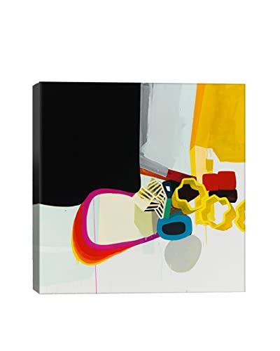 Throwing Shapes IV Gallery Wrapped Canvas Print