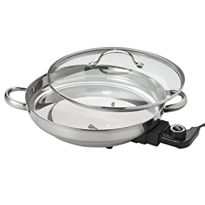 Aroma Afp 1600s Gourmet Series Stainless Steel