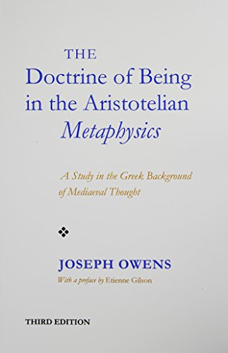 Doctrine of Being in the Aristotelian Metaphysics