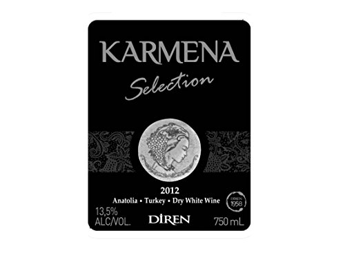 2012 Karmena Selection White Blend 750 Ml