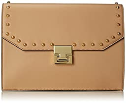 Ivanka Trump Hopewell Clutch, Palomino, One Size