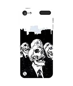 The Skull Apple iPod Touch (5th Generation) Case