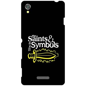 Sony Xperia T3 D5102 Back Cover - Saints & Symbols Designer Cases